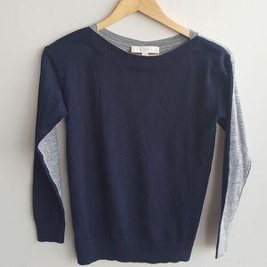 Loft Two Tone Sweater
